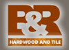 B&R Hardware and Tile Logo