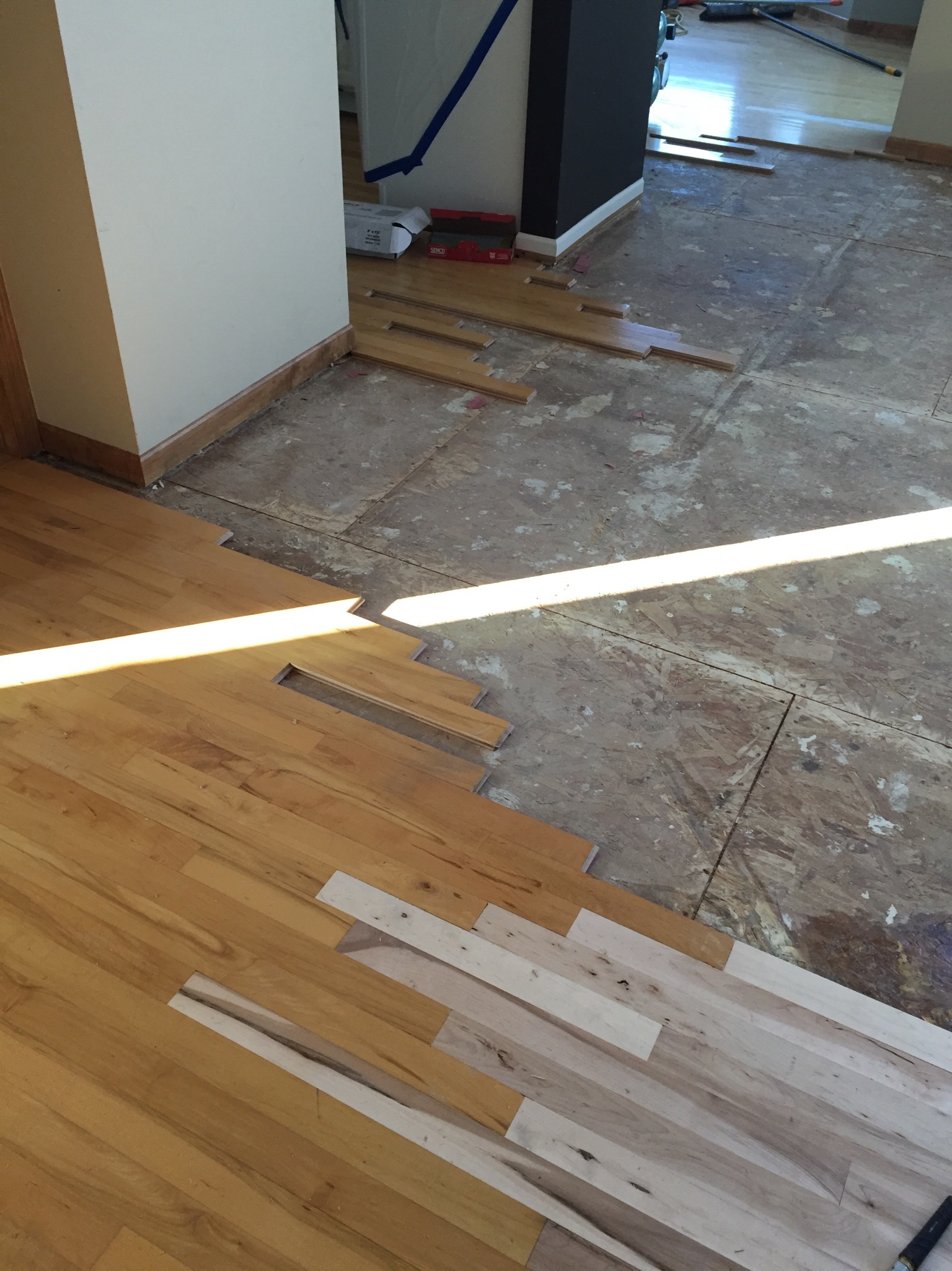 Hardwood Flooring Installation Process